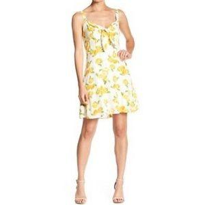 Socialite Flirty Lemon Dress
